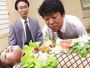 Film mit Japan Fetisch für Lebensmittel